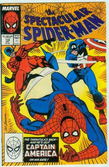 SPECTACULAR SPIDER-MAN #138 (1988)