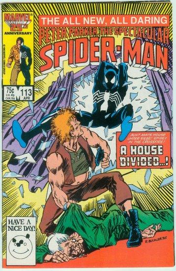 SPECTACULAR SPIDER-MAN #113 (1986)
