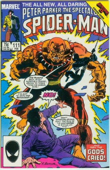 SPECTACULAR SPIDER-MAN #111 (1986)