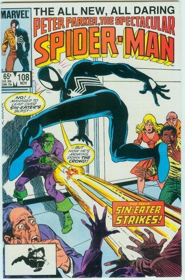 SPECTACULAR SPIDER-MAN #108 (1985)