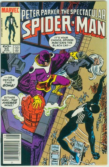 SPECTACULAR SPIDER-MAN #93 (1984)