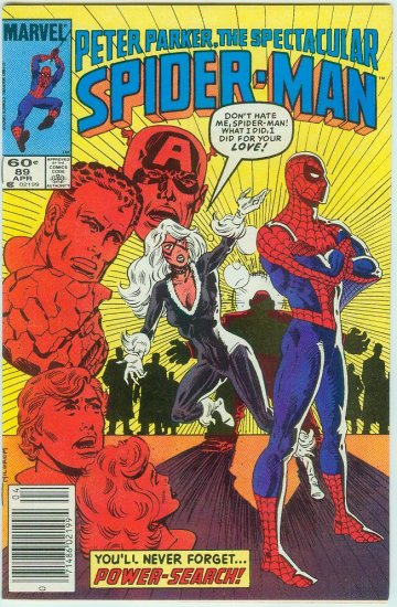 SPECTACULAR SPIDER-MAN #89 (1984)