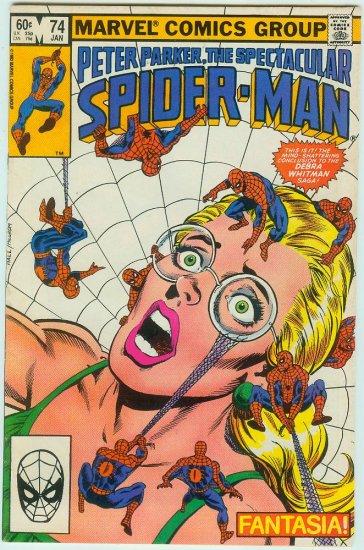 SPECTACULAR SPIDER-MAN #74 (1983)