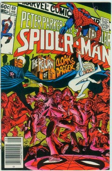 SPECTACULAR SPIDER-MAN #69 (1982)