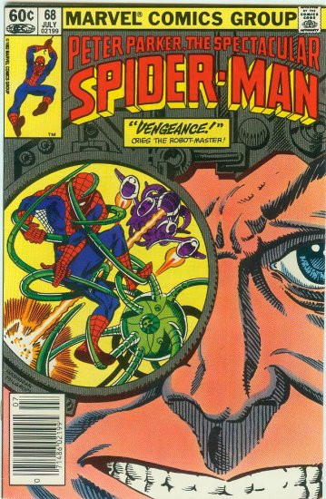 SPECTACULAR SPIDER-MAN #68 (1982)