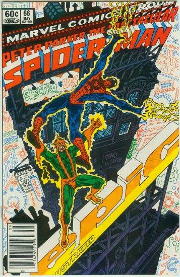 SPECTACULAR SPIDER-MAN #66 (1982)