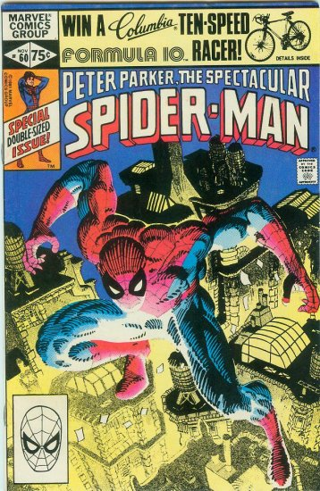 SPECTACULAR SPIDER-MAN #60 (1981)