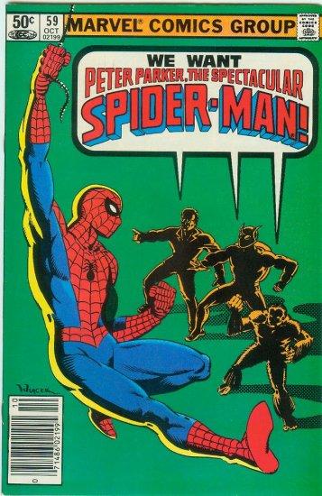SPECTACULAR SPIDER-MAN #59 (1981)