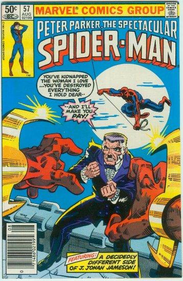 SPECTACULAR SPIDER-MAN #57 (1981)