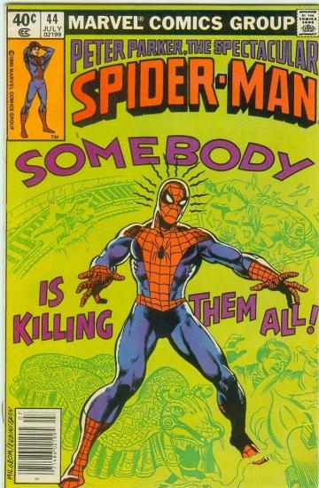 SPECTACULAR SPIDER-MAN #44 (1980)