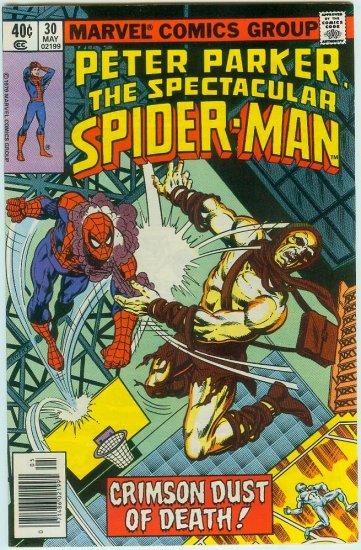 SPECTACULAR SPIDER-MAN #30 (1979) BRONZE AGE