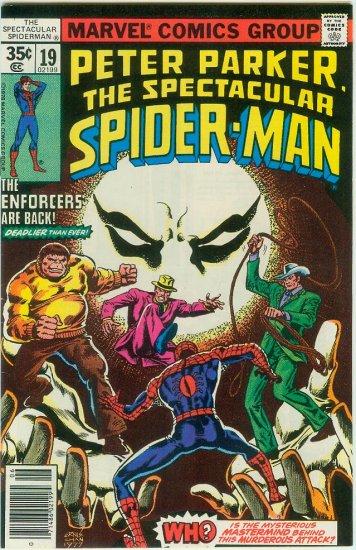 SPECTACULAR SPIDER-MAN #19 (1978) BRONZE AGE