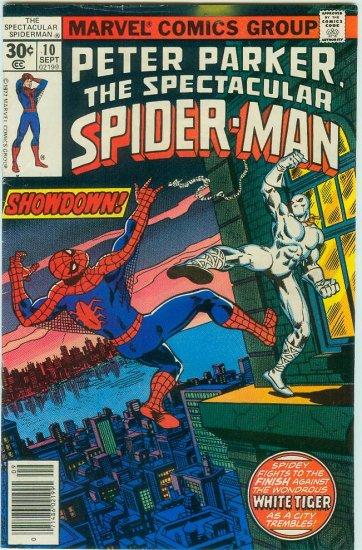 SPECTACULAR SPIDER-MAN #10 (1977) BRONZE AGE