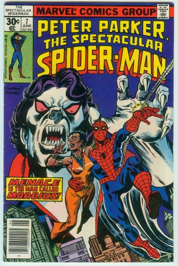 SPECTACULAR SPIDER-MAN #7 (1977) BRONZE AGE