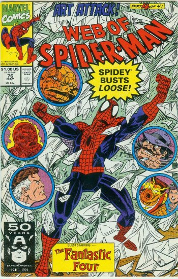WEB OF SPIDER-MAN #76 (1991)