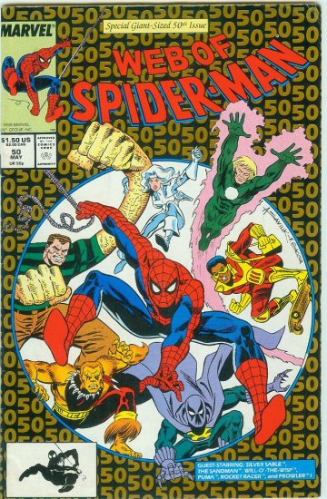 WEB OF SPIDER-MAN #50 (1989)