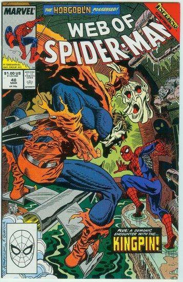 WEB OF SPIDER-MAN #48 (1989)