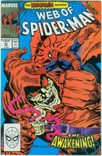 WEB OF SPIDER-MAN #47 (1989)