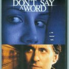 DONT SAY A WORD (2002) (PLAYED ONCE) MICHAEL DOUGLAS/BRITTANY MURPHY