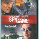 SPY GAME (2002) (PLAYED ONCE) ROBERT REDFORD/BRAD PITT