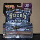 Nascar Rocks America Series #11 Bret Bodine Paychex Car + Guitar (1999)