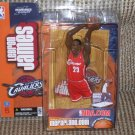 LEBRON JAMES VARIANT RED UNIFORM CAVALIERS SERIES 5 DEBUT FIGURE