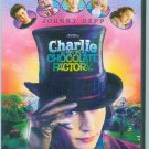 CHARLIE and the CHOCOLATE FACTORY (2005) (PLAYED ONCE) JOHNNY DEPP