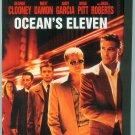 OCEANS ELEVEN (2002) (PLAYED ONCE) CLOONEY/DAMON/PITT/GARCIA/ROBERTS