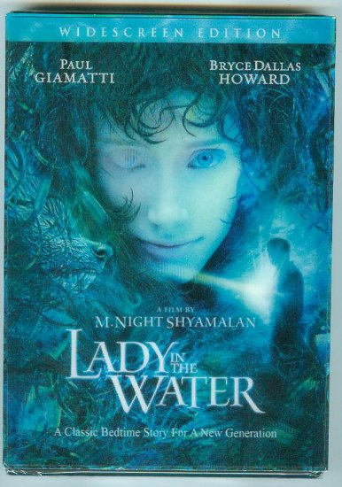 LADY IN THE WATER (2006) (NEW) PAUL GIAMATTI/BRYCE DALLAS HOWARD