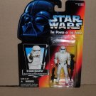 STORMTROOPER POWER OF THE FORCE ORANGE CARD (1995) NIP