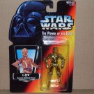 C-3PO POWER OF THE FORCE ORANGE CARD (1995) NIP