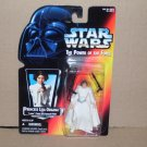 PRINCESS LEIA POWER OF THE FORCE ORANGE CARD (1995) NIP