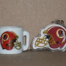WASHINGTON REDSKINS MINI CERAMIC MUG WITH KEYCHAIN