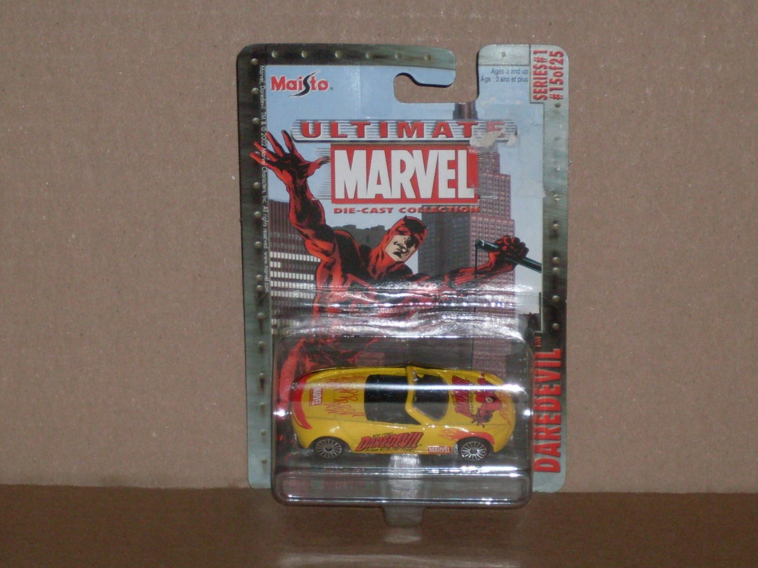 Maisto Daredevil Ultimate Marvel Die Cast Collection (2002)
