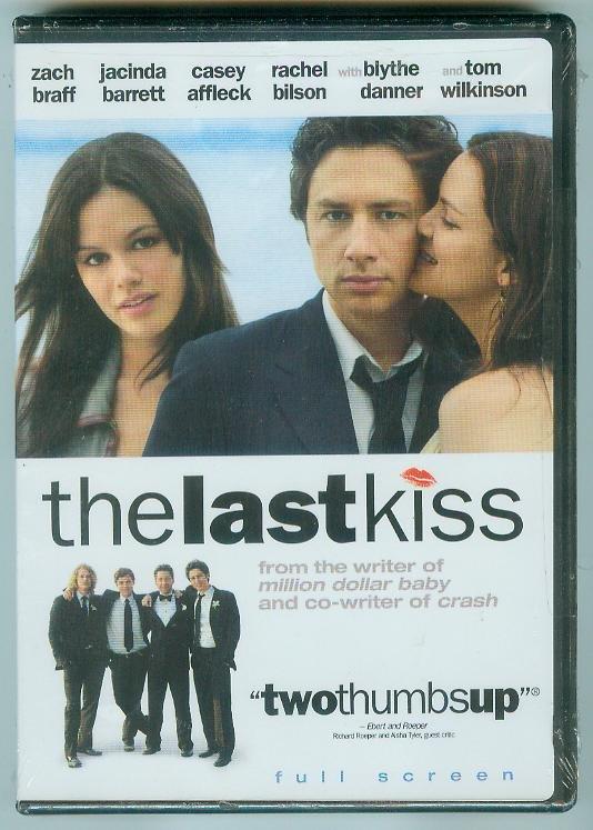 THE LAST KISS (2006) (NEW) ZACH BRAFF/JACINDA BARRETT