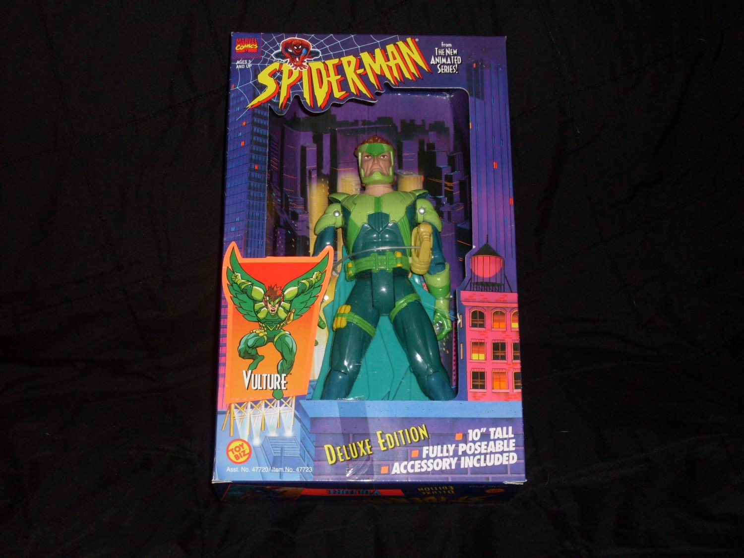 "10"" TALL VULTURE FROM SPIDER-MAN ANIMATED SERIES (1994) Added Shipping Cost Outside USA"