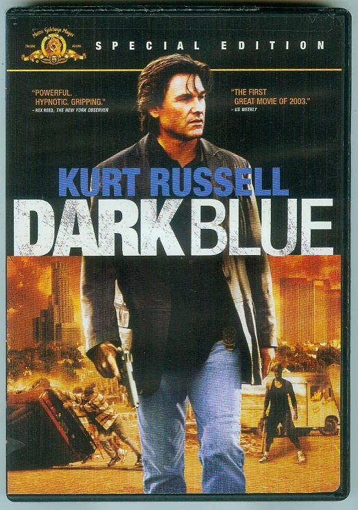 DARK BLUE (2003) (PLAYED ONCE) KURT RUSSELL/VING RHAMES