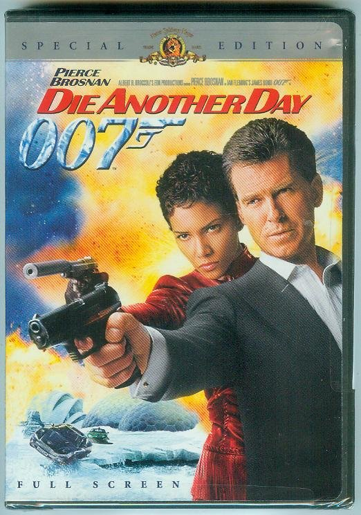DIE ANOTHER DAY 2-DISC (2003) (NEW) PIERCE BROSNAN/HALLE BERRY