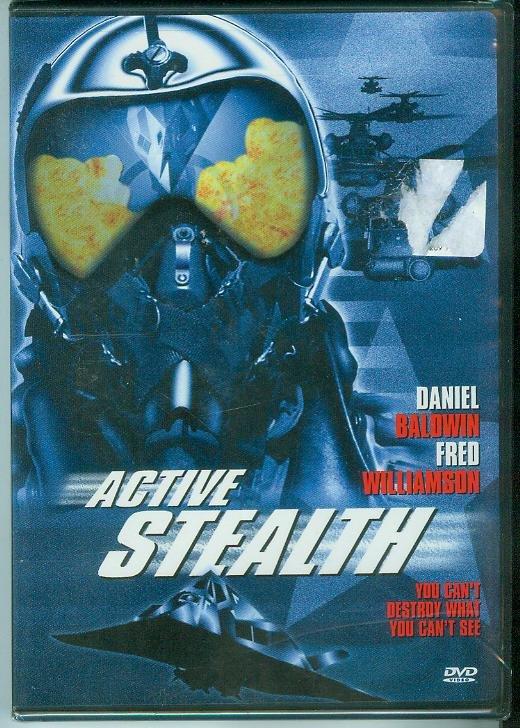 ACTIVE STEALTH (2002) (NEW) DANIEL BALDWIN/FRED WILLIAMSON