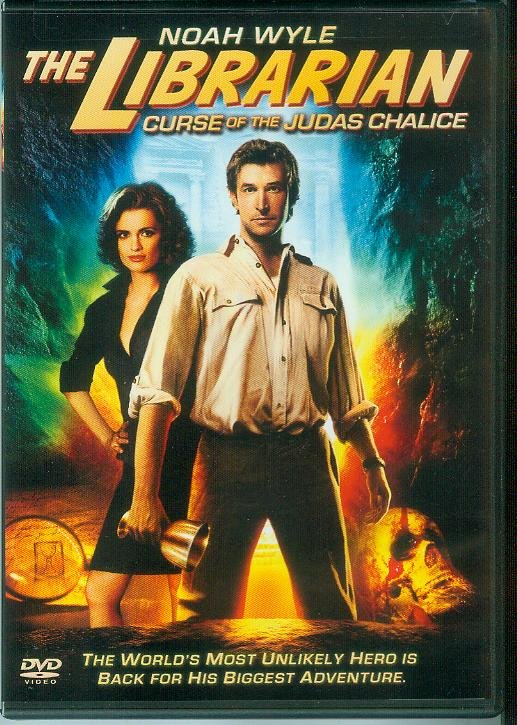THE LIBRARIAN 3: CURSE OF THE JUDAS CHALICE (2009) (PLAYED ONCE) NOAH WYLE