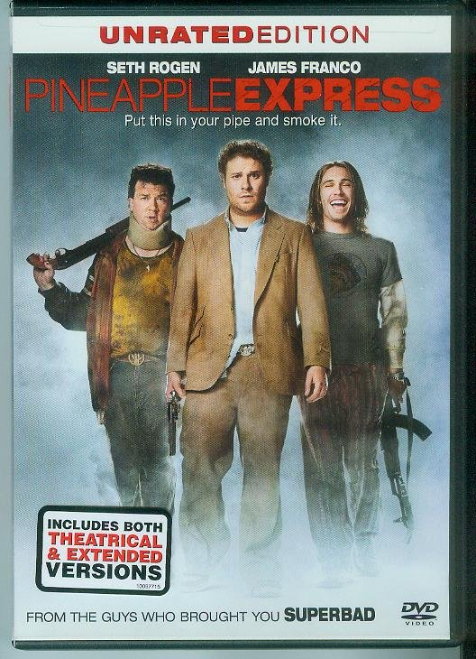 PINEAPPLE EXPRESS (2009) (PLAYED ONCE) SETH ROGEN/JAMES FRANCO