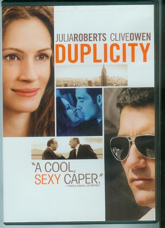 DUPLICITY (2009) (PLAYED ONCE) JULIA ROBERTS/CLIVE OWEN