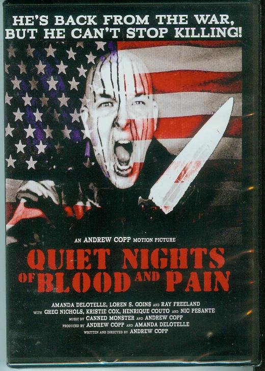 QUIET NIGHTS OF BLOOD AND PAIN (2010) (NEW) AMANDA DELOTELLE/LOREN S. GOINS