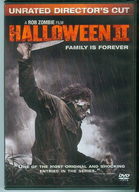 HALLOWEEN II (2009) (NEVER PLAYED) ROB ZOMBIE FILM