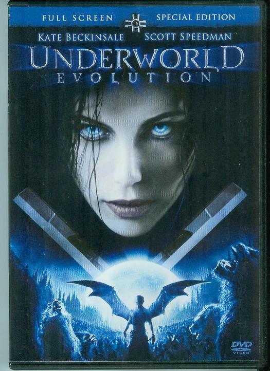 UNDERWORLD EVOLUTION (2006) (PLAYED ONCE) KATE BECKINSALE