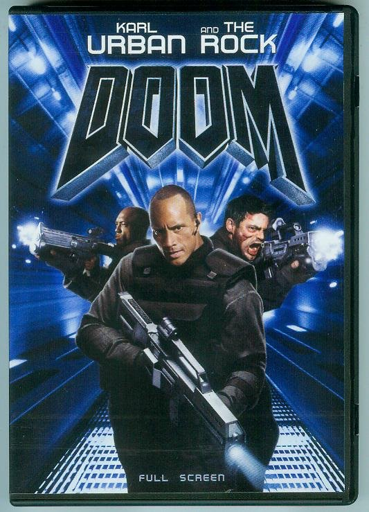 DOOM (2006) KARL URBAN/THE ROCK (PLAYED ONCE)