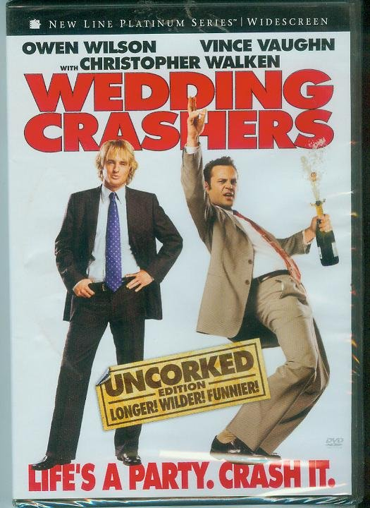 WEDDING CRASHERS (2006) (NEW) OWEN WILSON/VINCE VAUGHN
