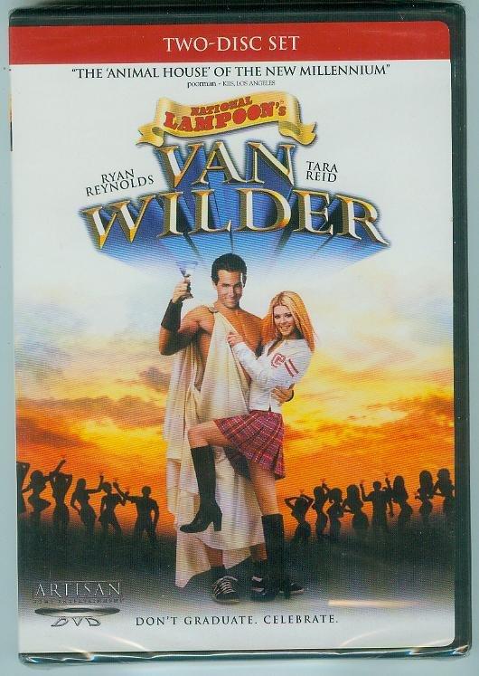 NATIONAL LAMPOON'S VAN WILDER 2-DISC (2002) (NEW) RYAN REYNOLDS/TARA REID