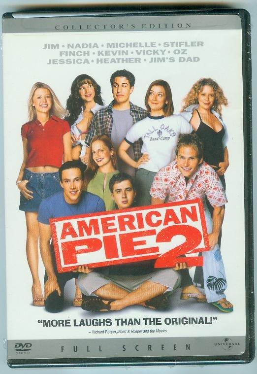 AMERICAN PIE 2 (2002) (NEW) JASON BIGGS/ALYSON HANNIGAN/CHRIS KLINE