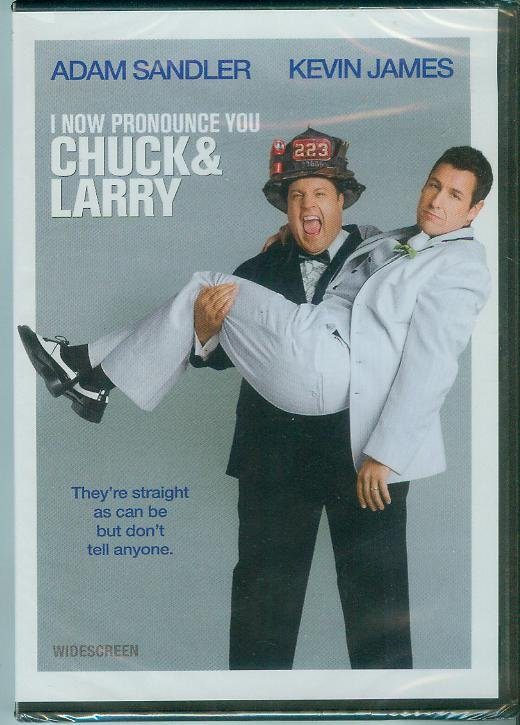 I NOW PRONOUNCE YOU CHUCK AND LARRY (2007) (NEW) ADAM SANDLER/KEVIN JAMES